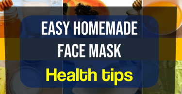 Easy homemade face mask for acne and oily skin