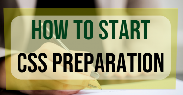 How to start CSS preparation