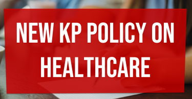 New KP policy on healthcare