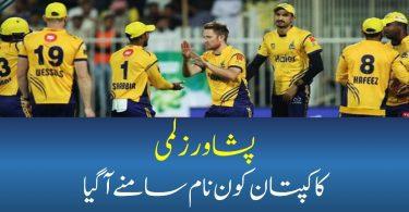 Who Was The Captain Of Peshawar Zalmi