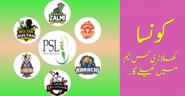 Which Player Will Play in Which Team